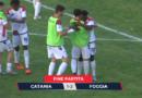 Impresa del Foggia, vince a Catania e va al secondo turno.