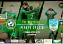 """FC Matese, domani a Venafro contro il Pineto per scrivere l'ultima pagina di una storia bellissima. """"Lontani ma vicini"""""""